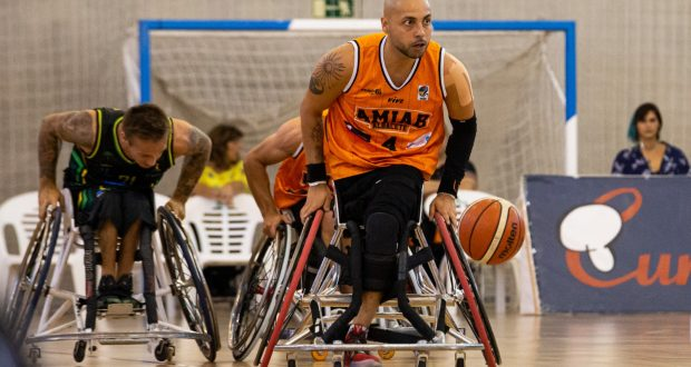 El BSR Amiab Albacete se impuso al Rincón Amivel (76-58) en el Ciudad de Albacete de baloncesto en silla de ruedas