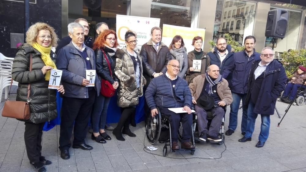 Presentación en cinco capitales de provincia de la región del Símbolo Internacional de la Discapacidad Orgánica