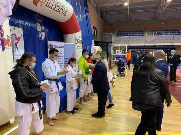 El Parakárate Nacional suma siete oros y una plata en el III Campeonato de kárate y parakárate Aidis-Nisseishi