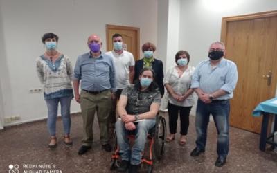 Podemos Castilla la Mancha se reúne con Aidiscam y escucha sus reivindicaciones.