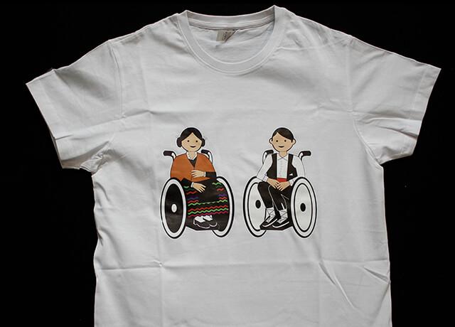 camiseta pareja manchegos